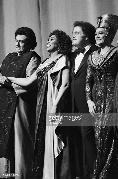 Soprano Leontyne Price one of the first black singers to become a major American opera star sang her farewell performance at the Metropolitan Opera...