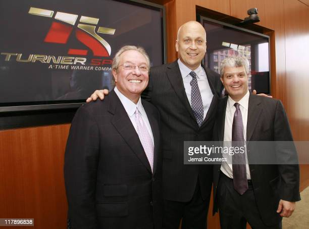 132310242jpg Wayne Pace Cal Ripken Jr and David Levy President of Turner Sports