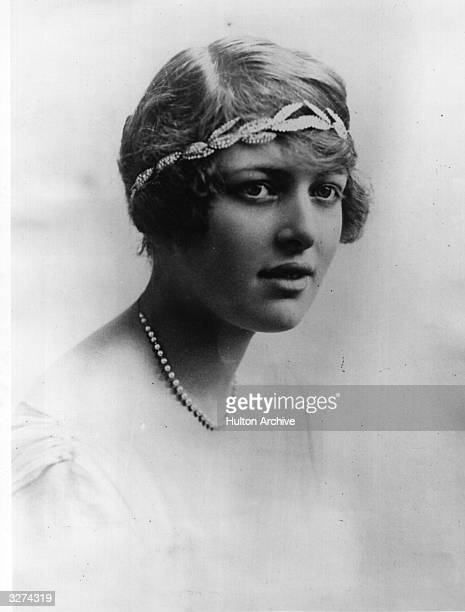 Lady Victoria Constance Mary Cambridge the daughter of George 1st Marquess of Cambridge of the Beaufort family and niece of Queen Mary