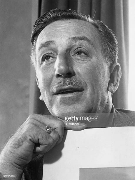 American film maker and animator Walt Disney