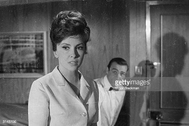 Gina Lollobrigida stars with Sean Connery in 'Woman of Straw', directed by Basil Dearden.