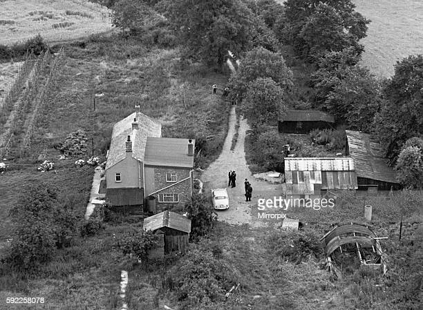 13th August 1963 OPS Aerial view of the farmhouse