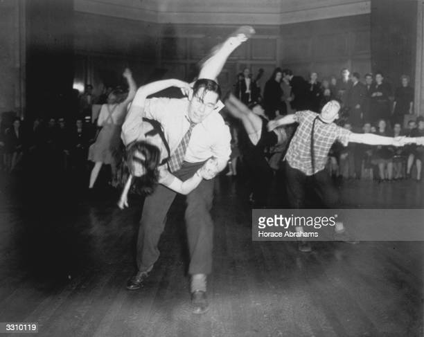 A Jitterbug contest at the Porchester Hall Bayswater London