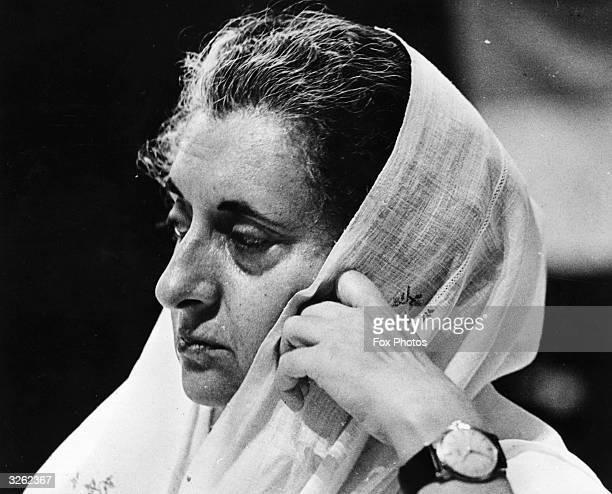 Indira Gandhi Prime Minister of India