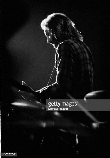 Jan Akkerman of Focus perform on stage at the Edmonton Sundown London 13th January 1973