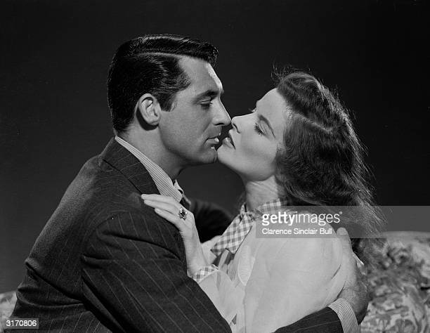 Katharine Hepburn and Cary Grant are the exhusband and wife who rediscover their love for each other in 'The Philadelphia Story' directed by George...