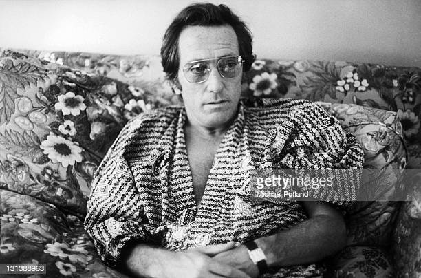 American singer Andy Williams posed in Knightsbridge London on 13th July 1972
