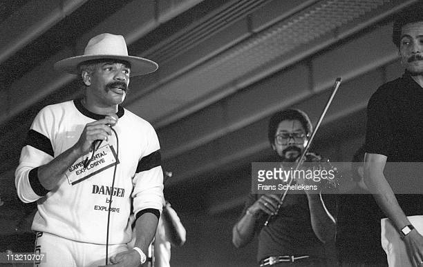 13th JULY: Los Van Van perform at the North Sea Jazz festival in the Congresgebouw in The Hague, Netherlands on 13th July 1986.
