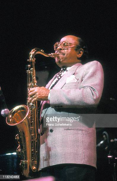 13th JULY: tenor sax player Benny Golson performs at the North Sea Jazz festival in the Congresgebouw, The Hague, Netherlands on 13th July 1988.