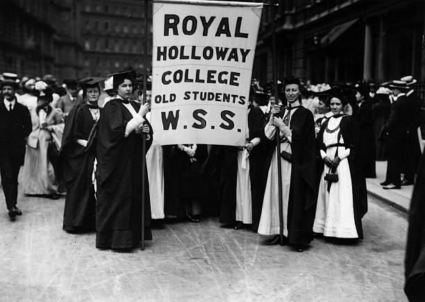 Graduate Suffragettes Wall Art