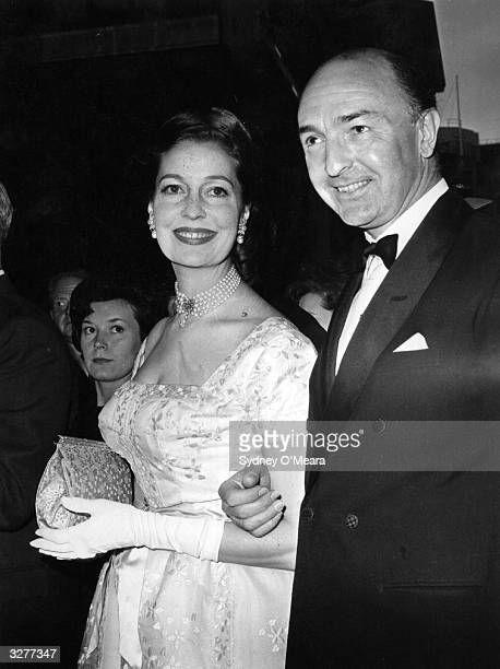 The Conservative politician John Profumo with his wife He resigned after admitting misleading the House of Commons about his affair with the model...