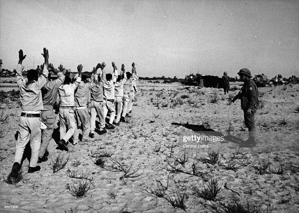 Prisoners Of War : News Photo