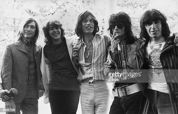 20yearold Mick Taylor former lead guitarist of the John Mayall rhythm and blues group replaces Brian Jones as the new member of the Rolling Stones...
