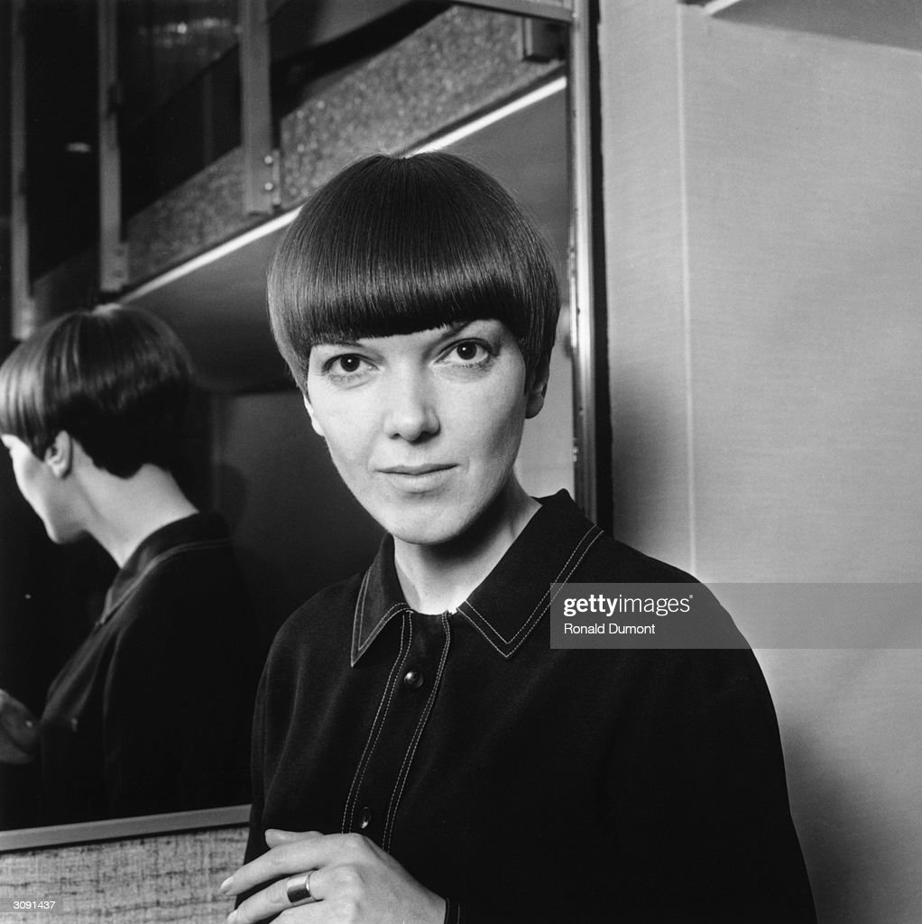 Clothes designer and make-up manufacturer Mary Quant who came to the...  News Photo - Getty Images