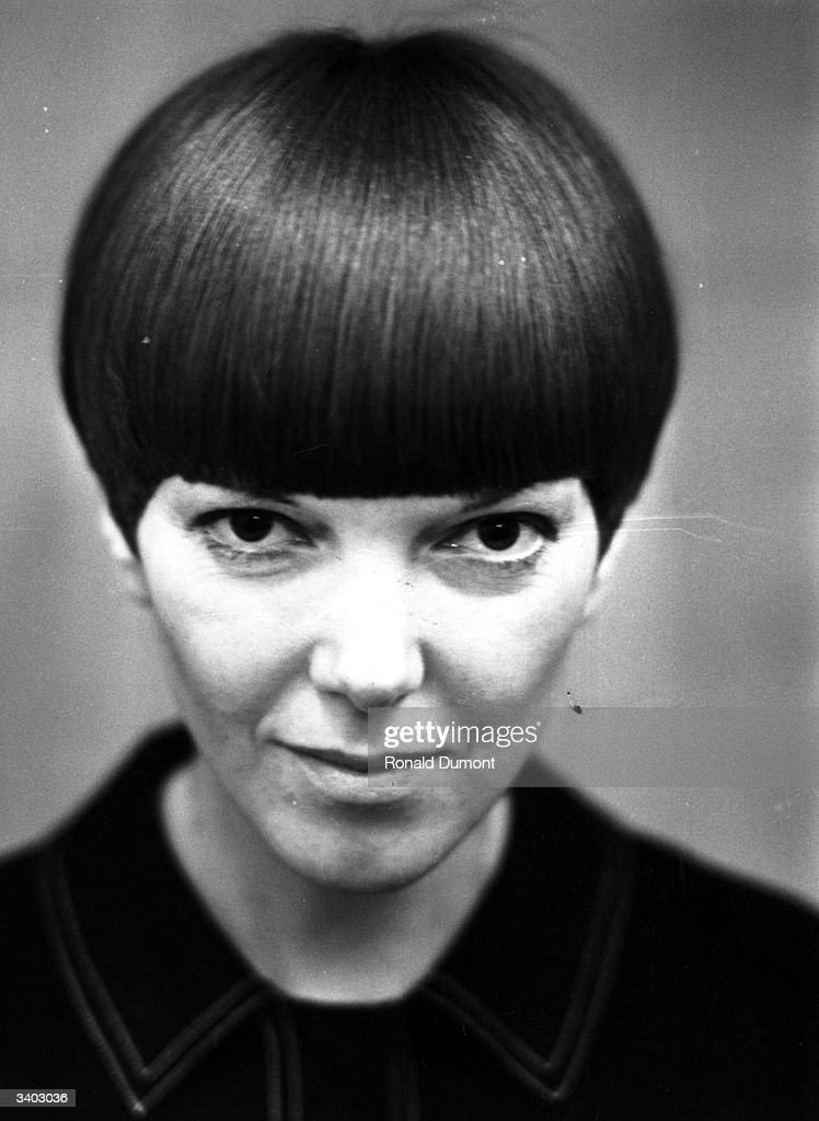 Clothes designer Mary Quant, one of the leading lights of the British fashion scene in the 1960's.