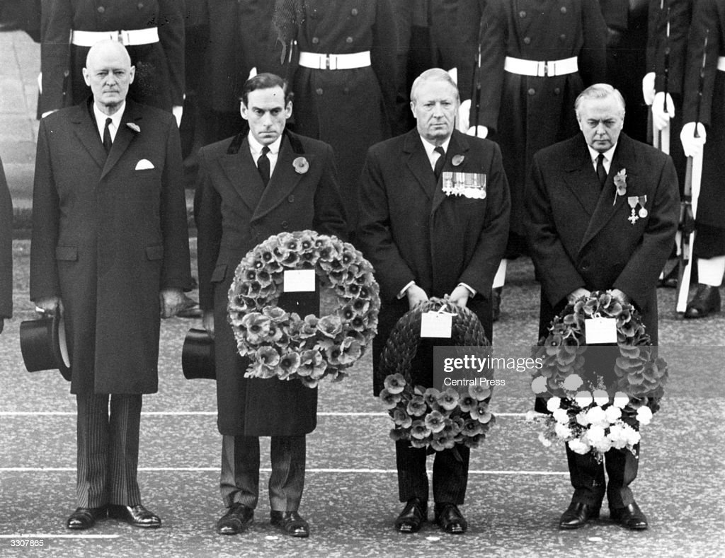 Leaders At Cenotaph : News Photo