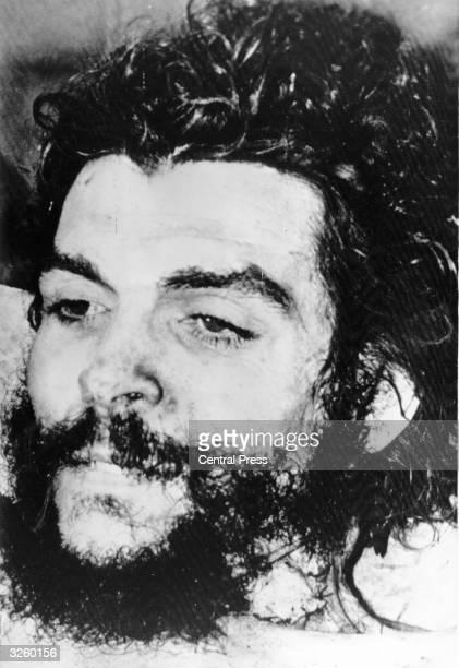 Ernesto 'Che' Guevara Argentinian communist revolutionary leader shortly after death