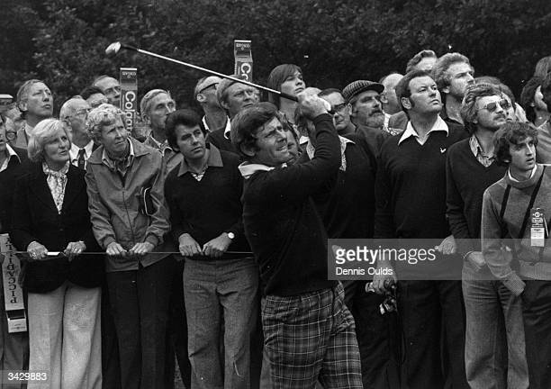 Australian golfer Graham Marsh playing at the Colgate Matchplay Championships at Wentworth Surrey