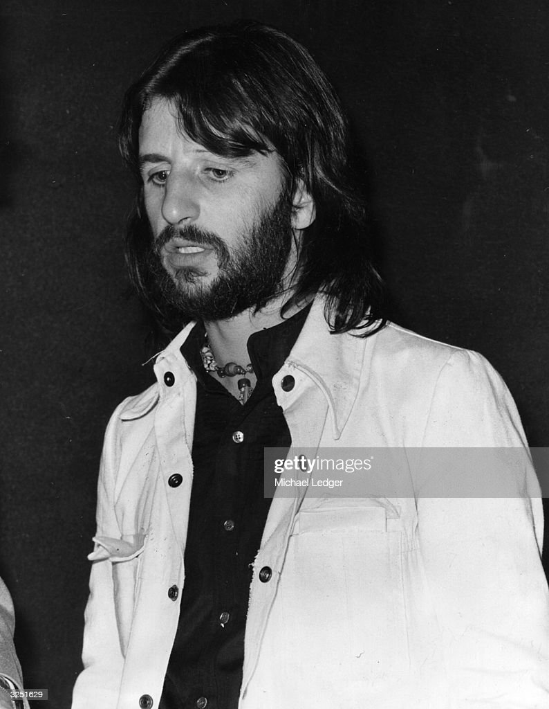 Ex Beatles Member Ringo Starr At A Steel Furniture Exhibition Libertys Store In Regent