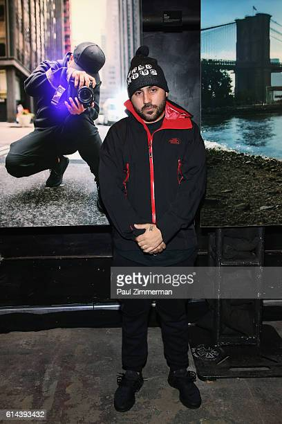 13th Witness attends The North Face event celebrating the company's 50th anniversary and debuting its global brand campaign at the Lowline Lab on...