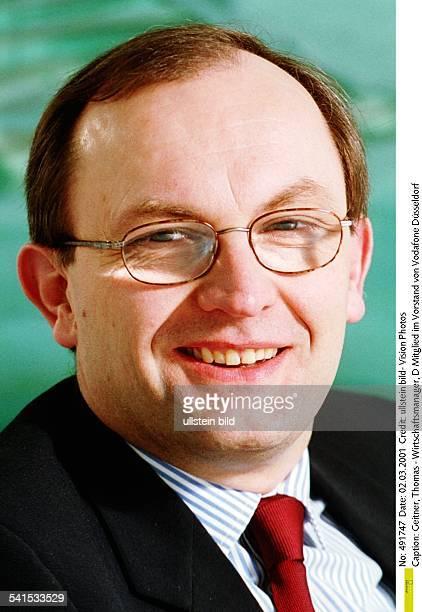 Wirtschaftsmanager DMitglied im Vorstand von Vodafone Düsseldorf Aufsichtsratsvorsitzender von ArcorPorträt