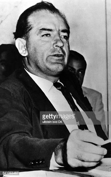 Politiker, Senator, USAVorsitzender des Ausschusses fürantiamerikaninsche Umtriebe.- 1955