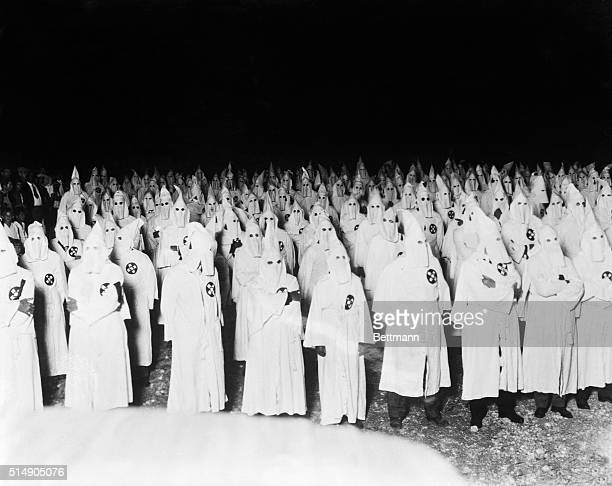 1/4/1923Homestead FL Photo shows gathering of the Ku Klux Klan members of the invisible empire at Homestead FL thirty miles South of Miami and within...