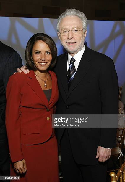 14888_080jpg_Gloria Rodriguez Mulloy and Wolf Blitzer at the CNN Election Breakfast 2007 at Gotham Hall on October 16 2007 in New York City