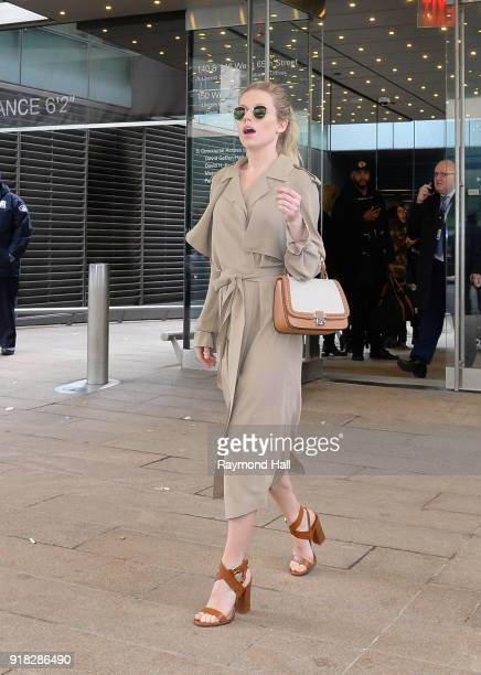 Princess Olympia of Greece attends the Michael Kors fashion show during New York Fashion Week at the Vivian Beaumont Theater at Lincoln Center on...