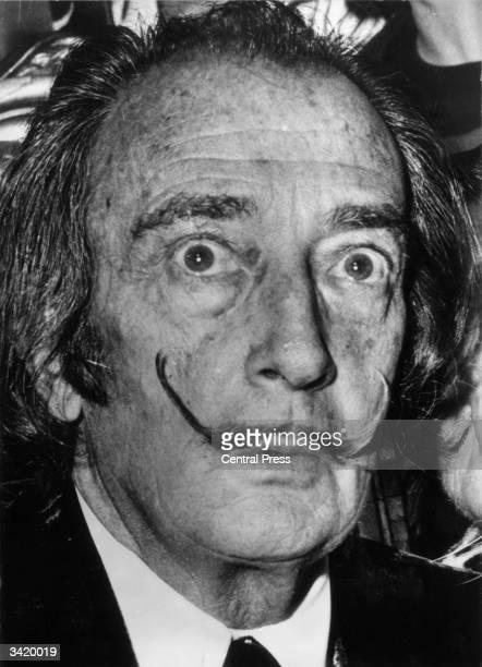 The idiosyncratic Spanish surrealist artist Salvador Dali