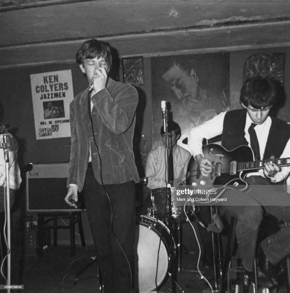Rolling Stones At Studio 51 Club : News Photo