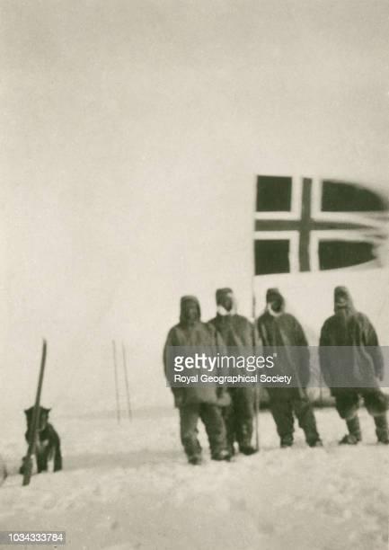 14th December 1911 - 89° 55' South , Antarctica, 4366. Norwegian Antarctic Expedition 1910-1912.