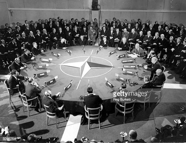 The opening speech at the NATO Summit talks in Paris.