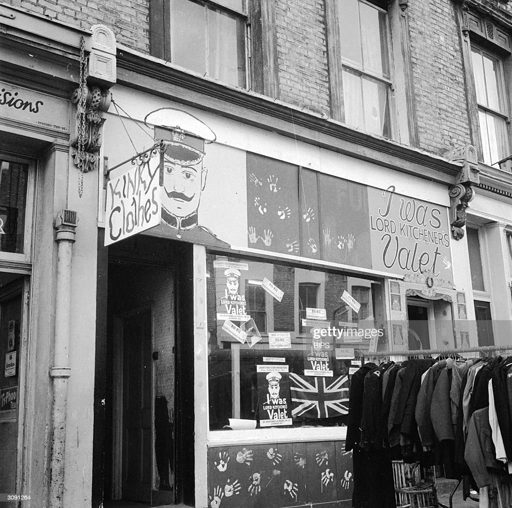 second hand military clothing boutique i was lord kitchener s valet