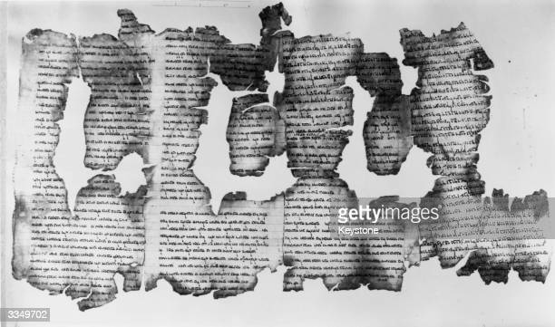 A 2000 year old Jewish scroll an original page of the Book of Isaiah found in a cave near the Dead Sea is to be exhibited at the British Museum in...