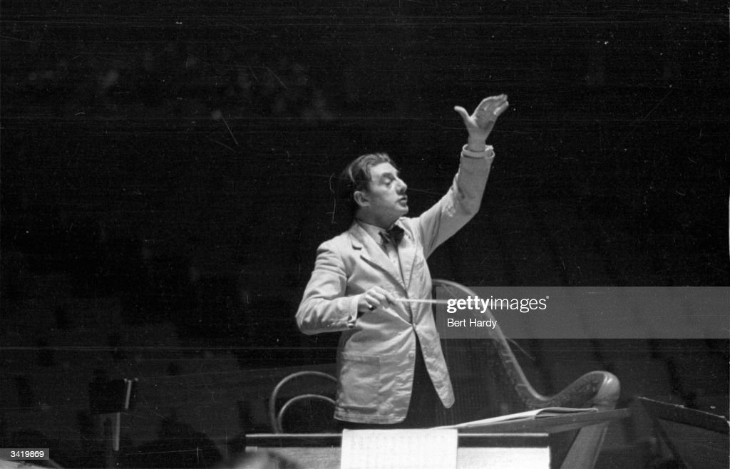 John Barbirolli : News Photo