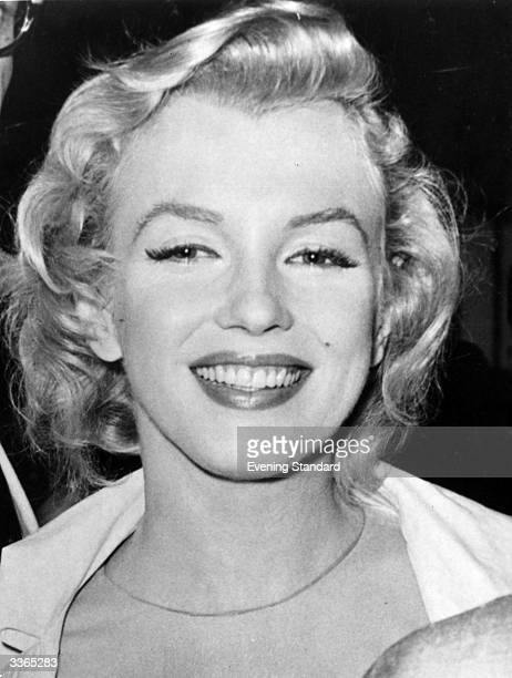 American film star Marilyn Monroe .