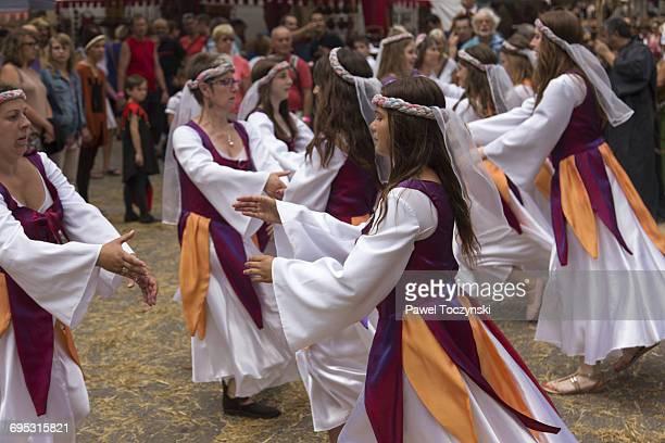 14th July Medieval Festival in Josselin, Brittany