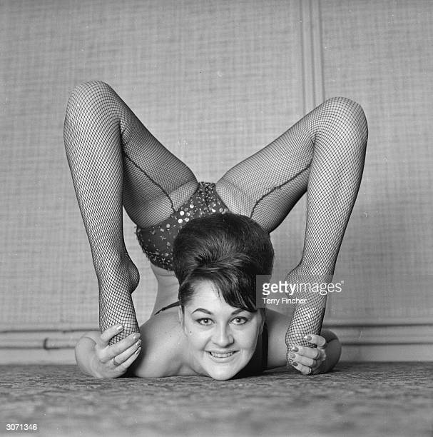 Contortionist Barbara Brown keeping flexible