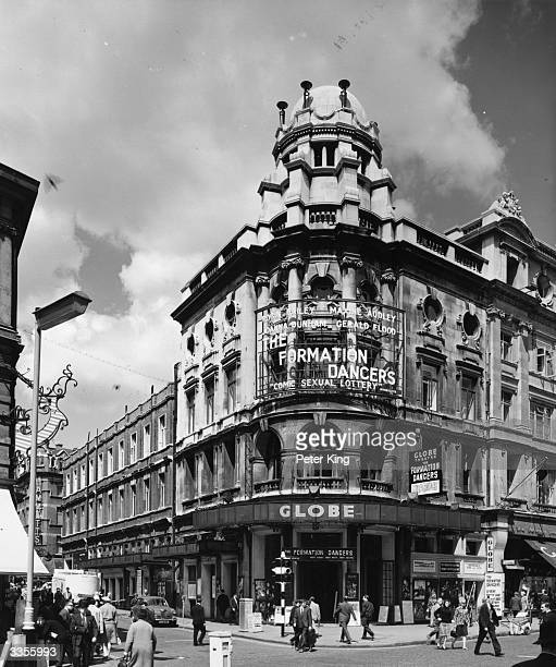 The Globe Theatre in Shaftesbury Avenue London