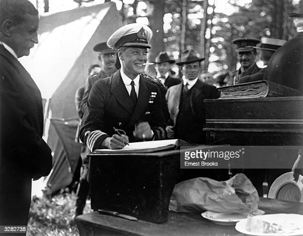 The Duke of Windsor then Edward Prince of Wales in Halifax Nova Scotia during his royal tour He succeeded his father as King Edward VIII in January...