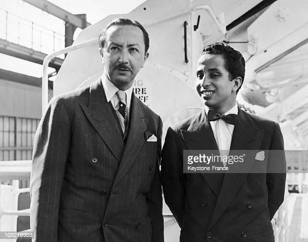 14Th Of May 1958 King Faysal Ii Of Iraq And Emir Abdul Illah