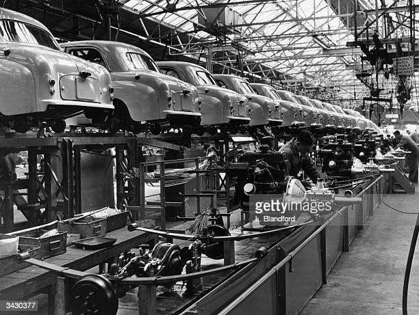 The Standard car works at Coventry
