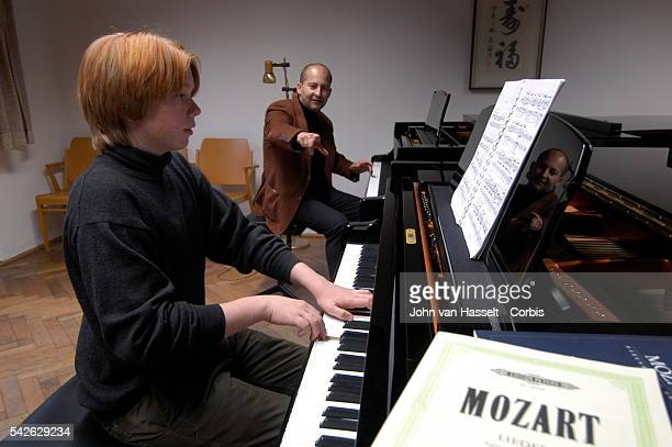 14yarold German child prodigy Felix Nagl has played since he was four Georg Steinshaden is his piano professor at the Mozarteum University which was...