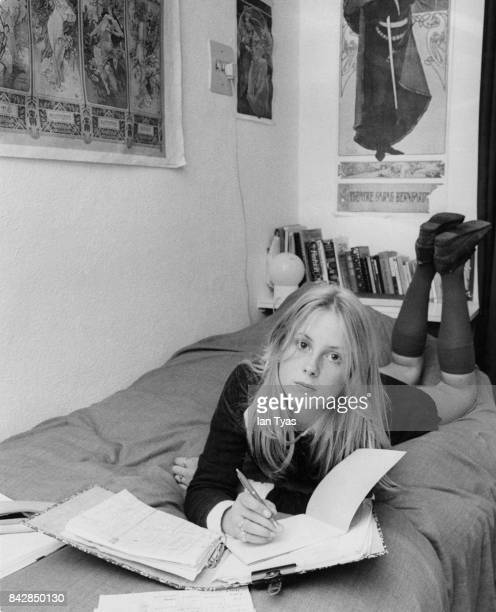 14yearold Cathryn Harrison the daughter of actor Noel Harrison and granddaughter of Rex HarrisonSeptember 1973 She is studying for her O levels...
