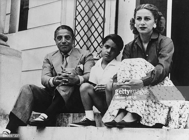 *Reeder GRmit Ehefrau Tina und Sohn Alexander 1953