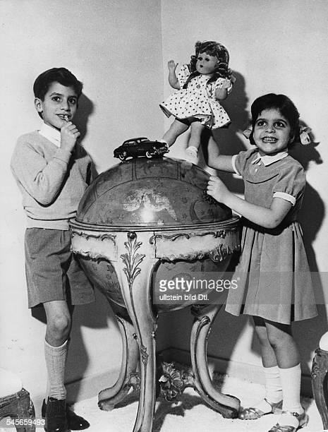*Reeder GRSohn Alexander und Tochter Christina 1956