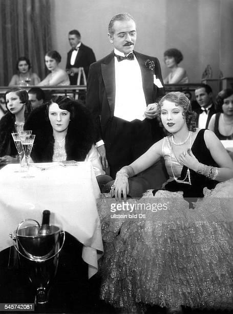 *Schauspielerin DRollenporträt mit Yvette Daruys und Gaston Jaquet vermutl um 1930
