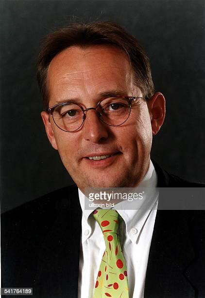 Politiker SPD DSenator für StadtentwicklungUmweltschutz und Technologie BerlinPorträt 1997
