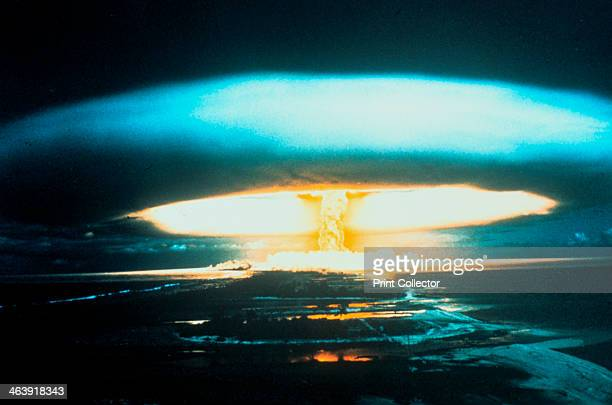 150megaton thermonuclear explosion Bikini Atoll 1 March 1954The unexpected spread of fallout from the test led to awareness of and research into...